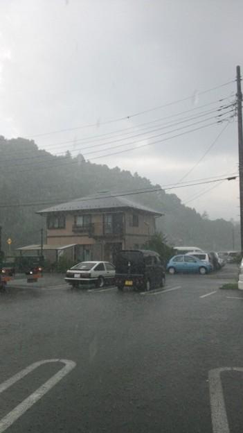 Photos: にわか雨@都留