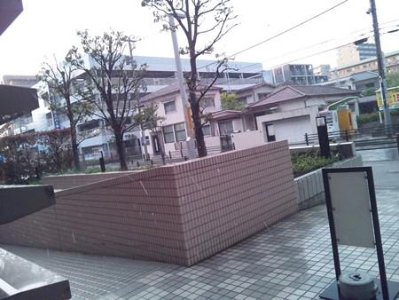 スコールのような大粒の雨@町田