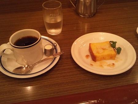ほほえみブレンド+オレンジケーキ