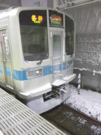 雪国の電車