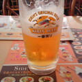 写真: 昼ジョナ。ビールを飲みなが...
