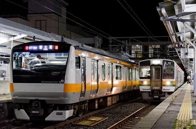 Photos: 中央線vs飯田線。
