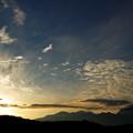 野辺山に、陽は落ちて。