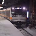 DSC_8834 雪に埋もれる荻窪駅