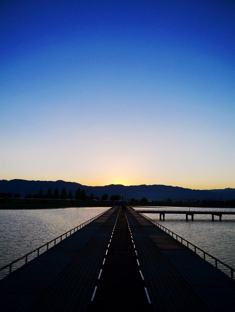 日没後の釣り場
