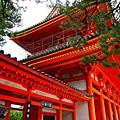 Photos: 朱色が際立つ平安神宮