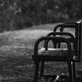 誰も居ないベンチ