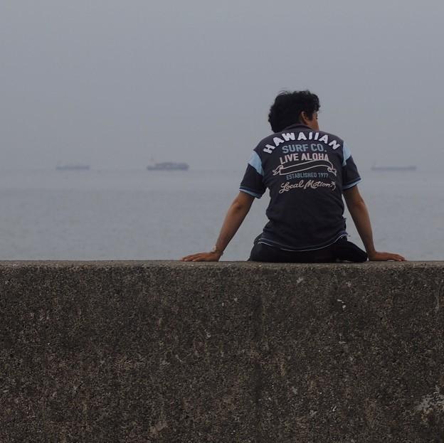 海を見ていた
