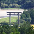 写真: 熊野古道より大斎原