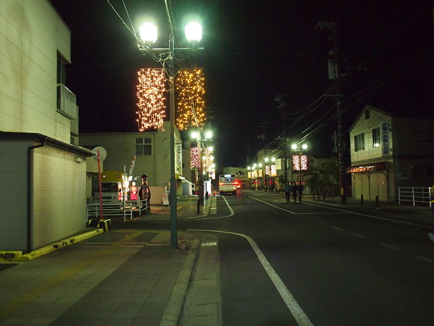 竹駒神社初詣帰り道