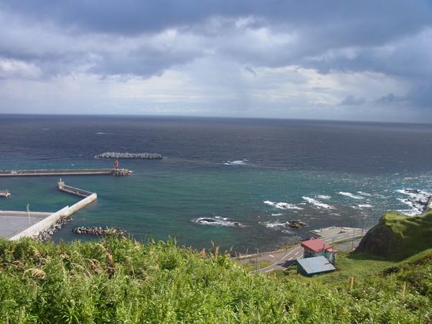 礼文島の港