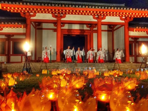 万灯祭 三河国分尼寺