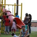 Photos: ラルコマルの上は公園になっていて、子供たちがいっぱい