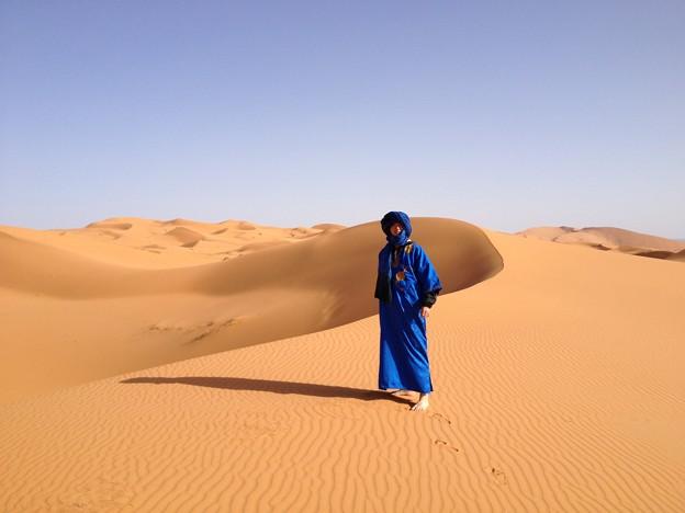 サハラ砂漠の砂丘2