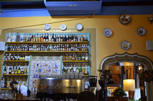 カサ・マルティ(クアトラ・ガッツ)、ガウディたちが通ったレストラン