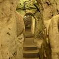 写真: デリンクユ地下都市の階段