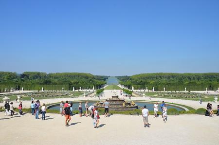 あまりにも広大なヴェルサイユ宮殿