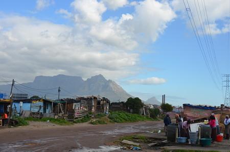 旧強制黒人居住区ランガの風景