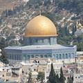 写真: 岩のドーム。エルサレムで一番目立つ