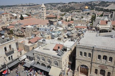ダビデの塔。搭というか要塞でヤッフォ門の隣で景観がよい