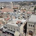 写真: ダビデの塔。搭というか要塞でヤッフォ門の隣で景観がよい