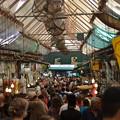 写真: 新市街のマーケット。ユダヤ教の大晦日でもここだけは賑わっていた
