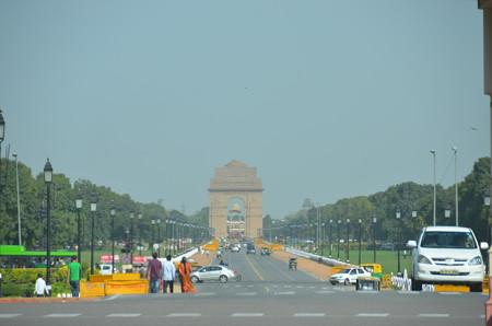 インド門。凱旋門的な位置づけ?