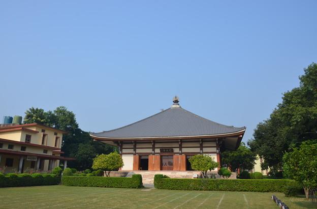 日本寺。まさに日本的な美しさと静けさ