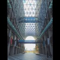 写真: 愛知大学 新名古屋キャンパス:校舎間にあるガラス屋根 - 13
