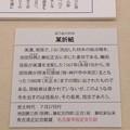Photos: 秀吉清正記念館 - 020:某折紙(ぼうおりがみ)の説明