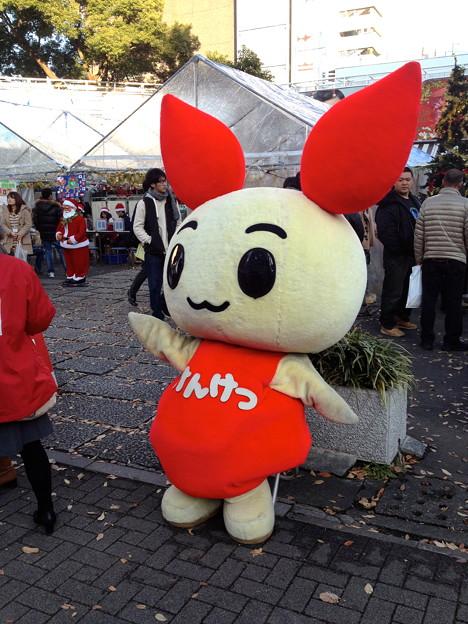 栄広場:学生クリスマス献血キャンペーン - 2(ゆるキャラ)