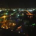 写真: 名古屋港シートレインランド:大観覧車から見た夜景 - 13