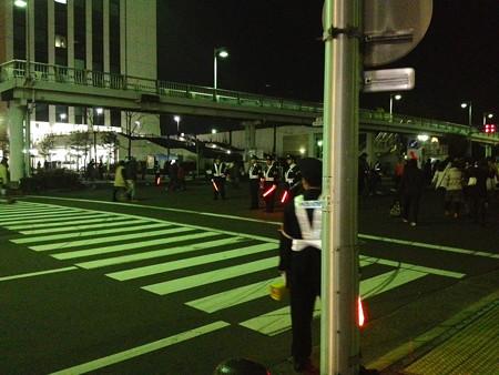 スターライトレビュー:スターライトHANABI - 02(会場周辺にいた沢山の警察官)