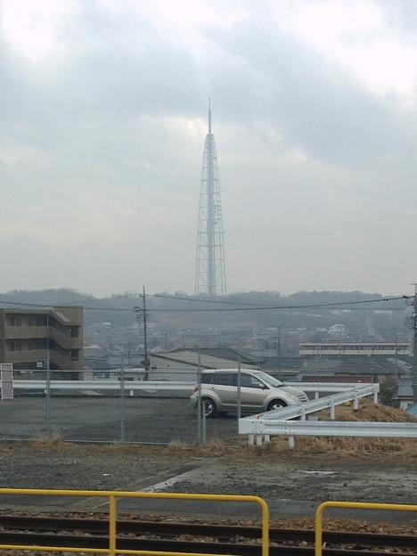 愛知環状鉄道から見た瀬戸デジタルタワー - 6