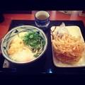 丸亀製麺:とろ玉うどんの日替わりセット