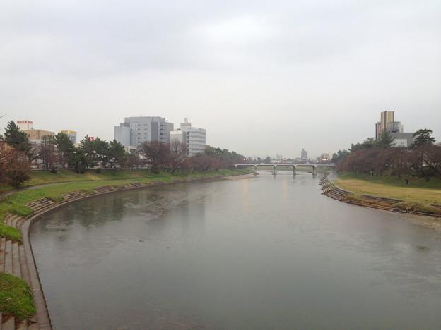 殿橋から見た明代橋 - 2