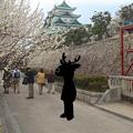 写真: 名古屋城に鹿キャラ案