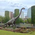写真: ノリタケの森:巨大恐竜がやってきた! - 13