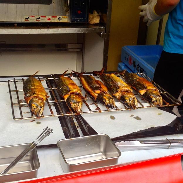 ナゴヤ・オクトーバフェスト 2013:鯖の丸焼き - 2