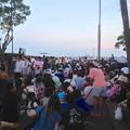 写真: 名古屋みなと祭 2013:花火開始20分前のポートビル横の道路 - 1