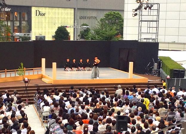 名駅薪能 - 10:「全国学生能楽コンクール」優秀校の能披露