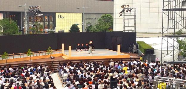 名駅薪能 - 12:「全国学生能楽コンクール」優秀校の能披露