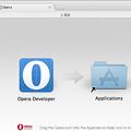 写真: Opera Developer 17:インストール
