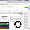 写真: Opera Developer 17:Tabman Tabs Managerでウィンドウパネルを実現? - 2