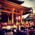 写真: 御坊夏まつり 2012:お坊さんバンドの演奏