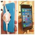 Photos: iPhone 5c ブルーモデル - 4