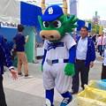 名古屋まつり 2013:中日ドラゴンズ・ファンクラブのマスコット「ガブリ」(エンゼル広場)