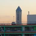 写真: 星ヶ丘テラスから見た、夕暮れ時の東山スカイタワー - 4