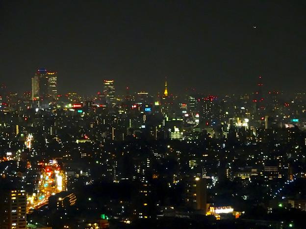東山スカイタワーから見た夜景 No - 20:名駅・栄方面