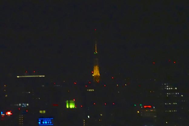 写真: 東山スカイタワーから見た夜景 No - 19:名古屋テレビ塔